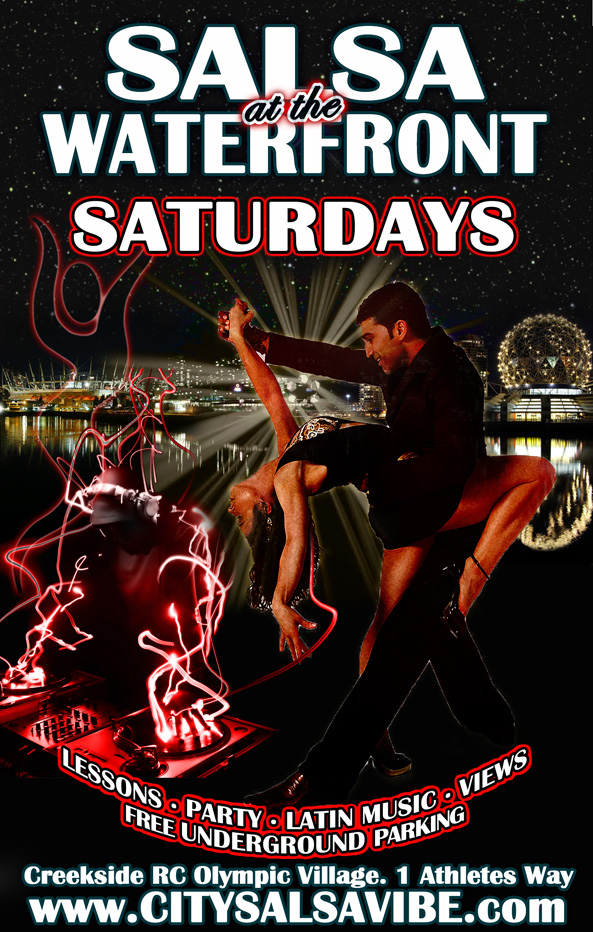 Saturdays Salsa at the Waterfront