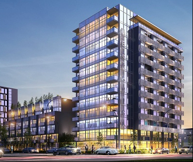 Rendering of Meccanica Condo Development
