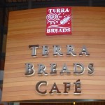 Terra Breads Sign at the Olympic Village in Southeast False Creek