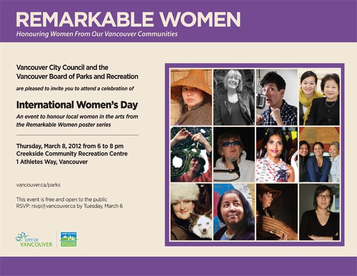 Remarkable Women Poster