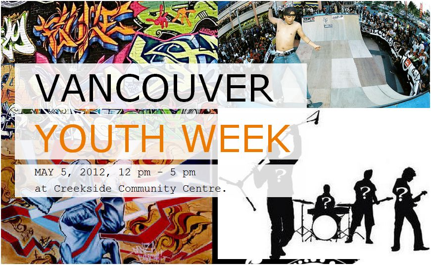 Vancouver Youth Week Poster