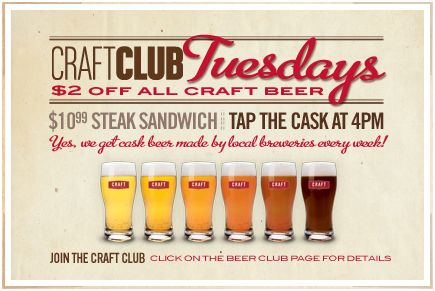 The Craft Beer Market Craft Club Tuesdays