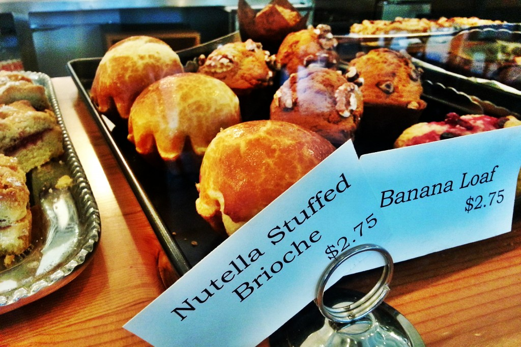 Sweetery Cafe + Dessert Nutella Stuffed Brioche and Banana Loaf