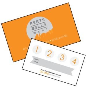 Portobello West Shop Local Punch Card