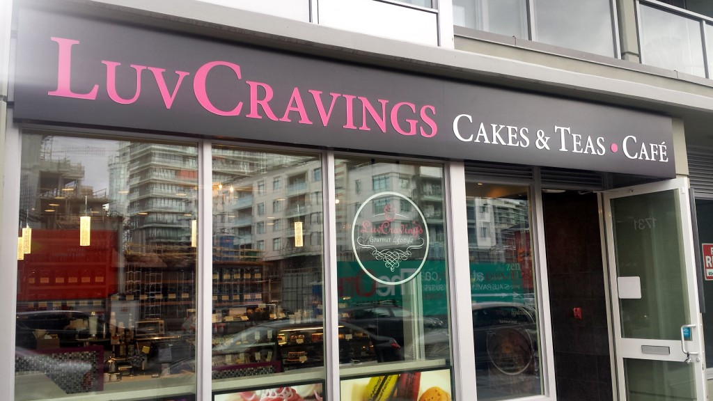 Luv Cravings Cakes and Tea ~ Cafe on Manitoba St