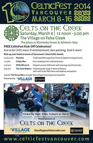 Celts on the Creek 2014