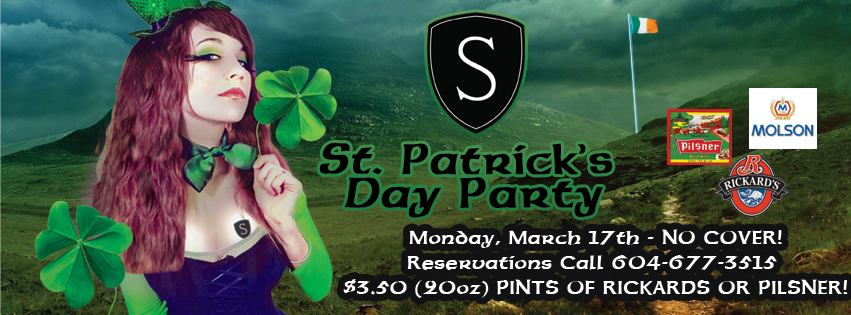 St Patrick's Party at The Sin Bin Sports Grill