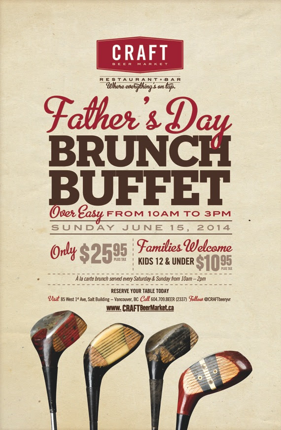 Craft Beer Market Vancouver Fathers Day Brunch