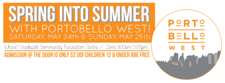 Portobello West Spring Into Summer at Creekside Community Centre
