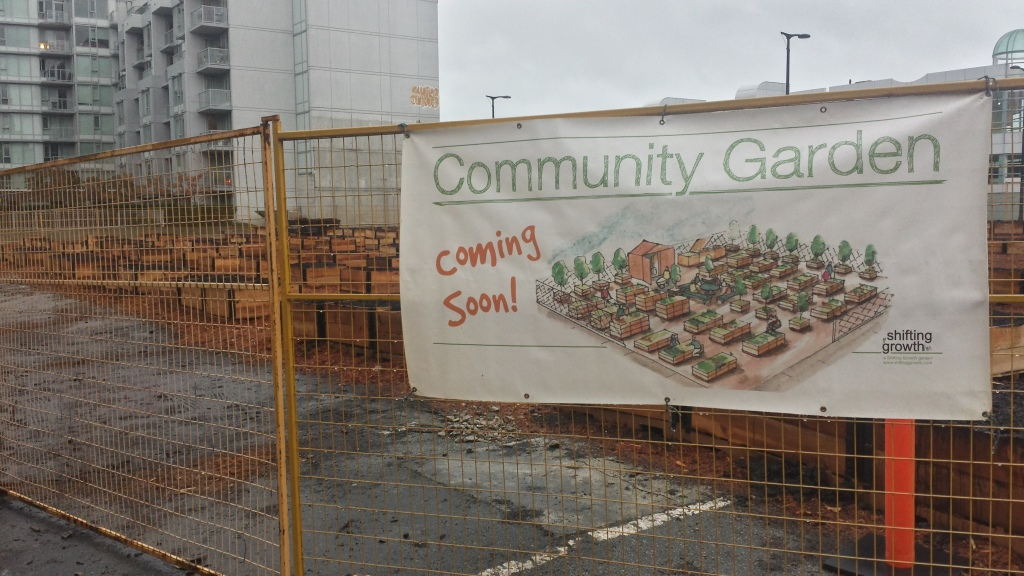 New Community Garden in Southeast False Creek
