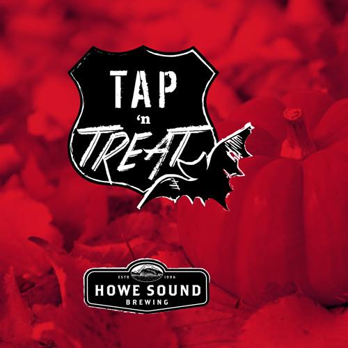 Halloween at Tap and Barrel Tap N Treat with Howe Sound Brewing