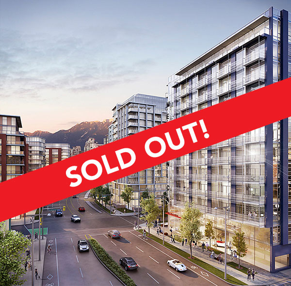 Southeast False Creek Condo Building Meccanica by Cressey Sold Out