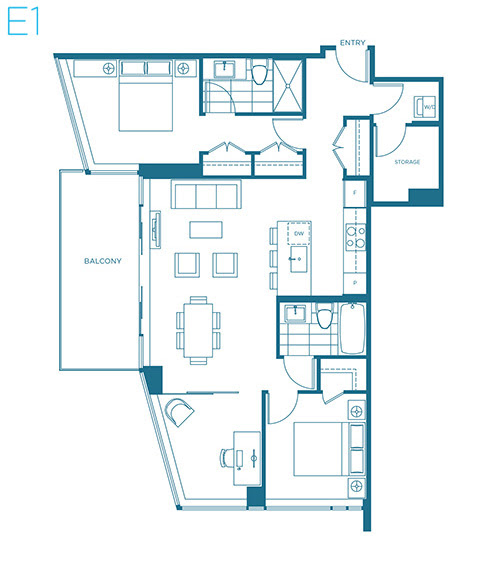 Sample Floor Plans Released At Voda At The Creek