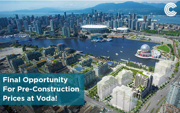 Last Chance For Pre-Construction Pricing at Voda