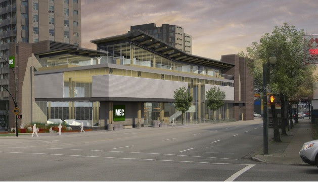 New MEC Store in Southeast False Creek Olympic Village
