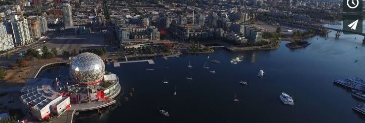 Aerial Video of Southeast False Creek