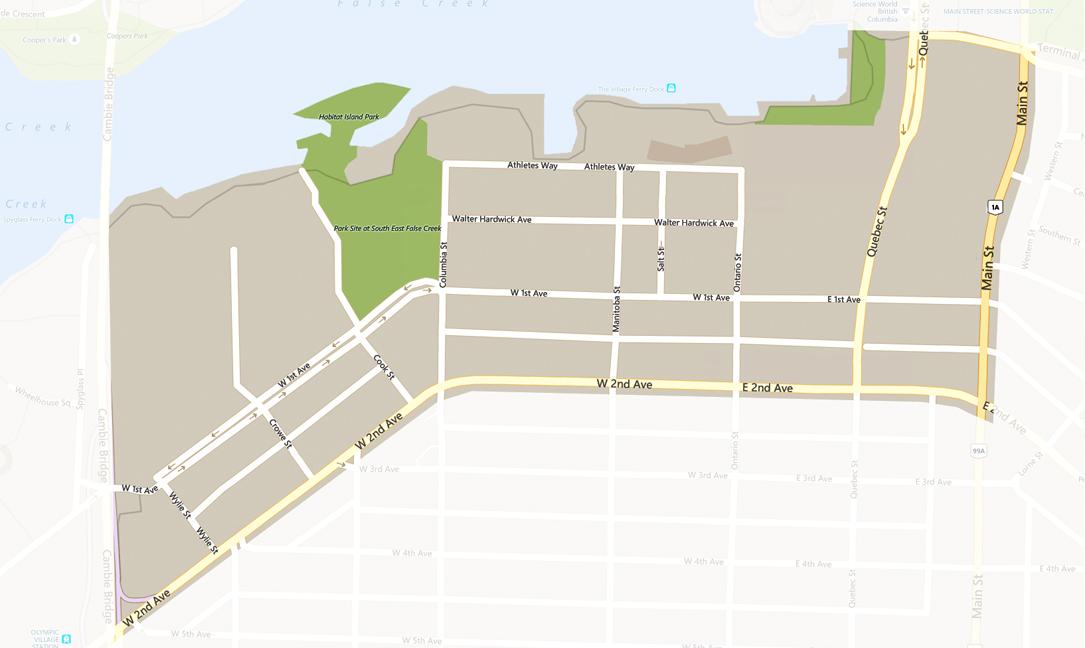 SEFC map