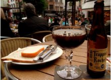 belgium beer and cheese in brussels