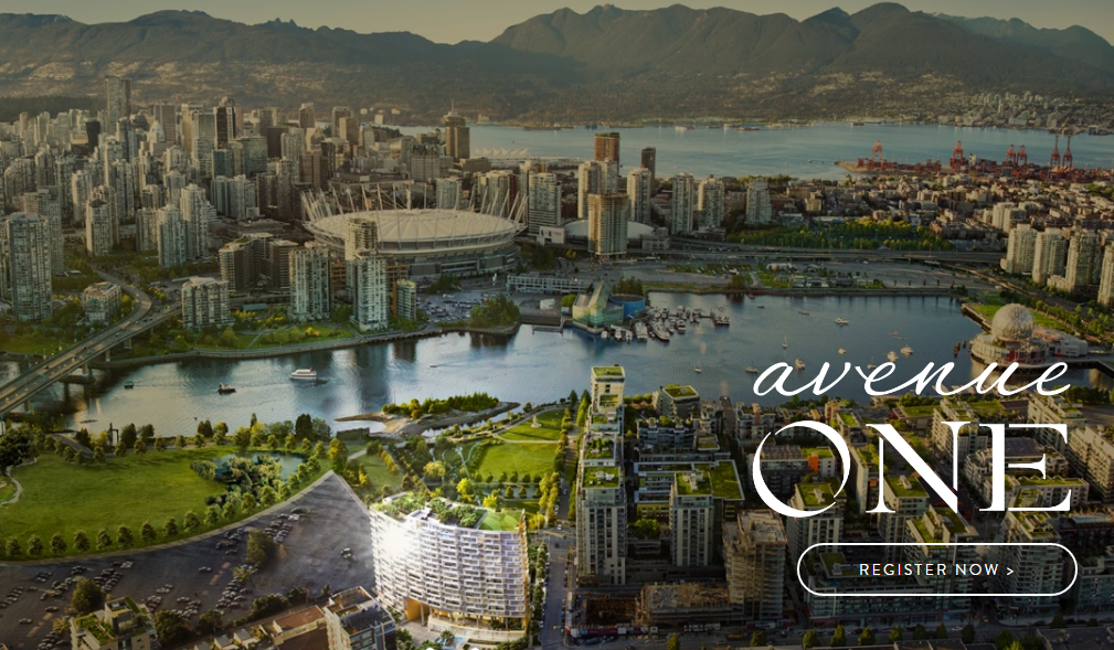avenue one pre-sale condos neighbourhood- endering