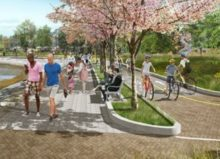 South false creek seawall improvements charleson park and spruce harbour