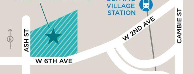 Olympic Village Temporary Modular Housing Map Location